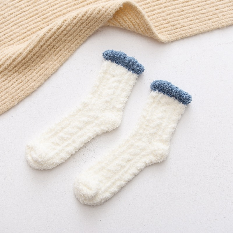 Chaussettes peluches