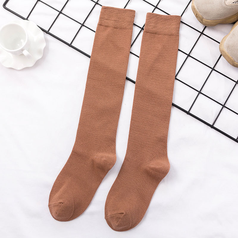 Chaussettes longues en coton
