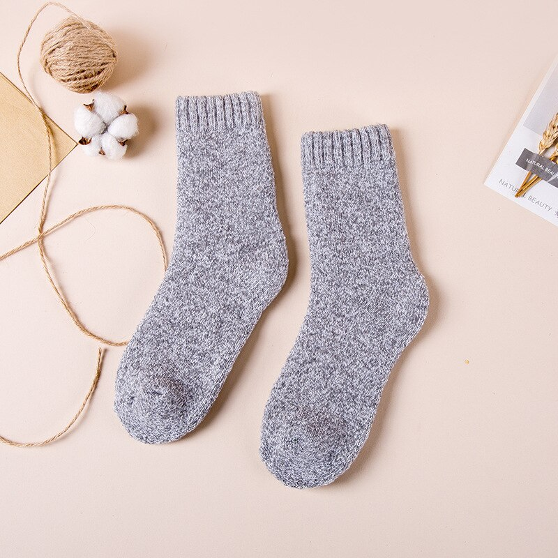 Chaussettes très épaisses en laine