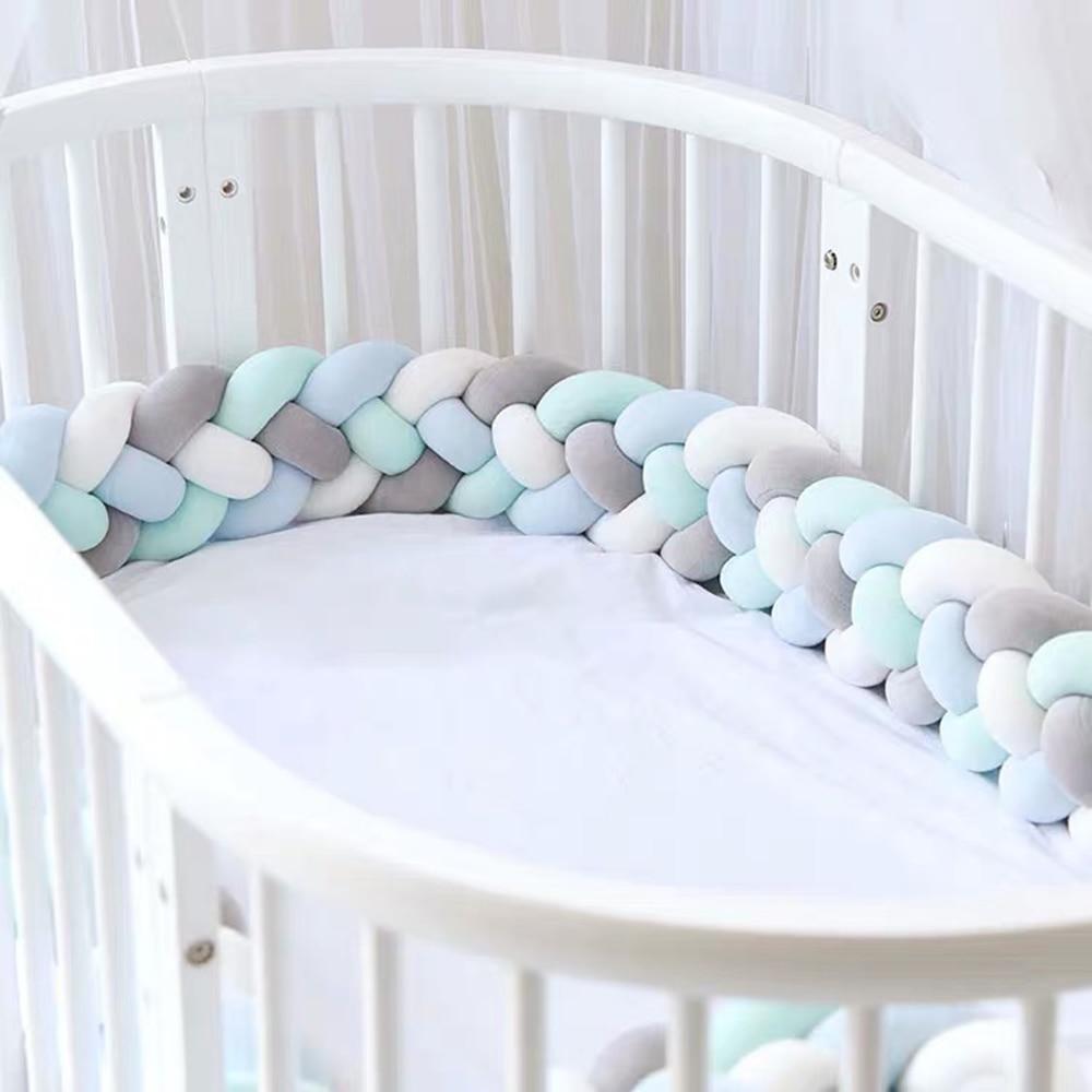 Protecteur lit tressé cocooning pour bébé