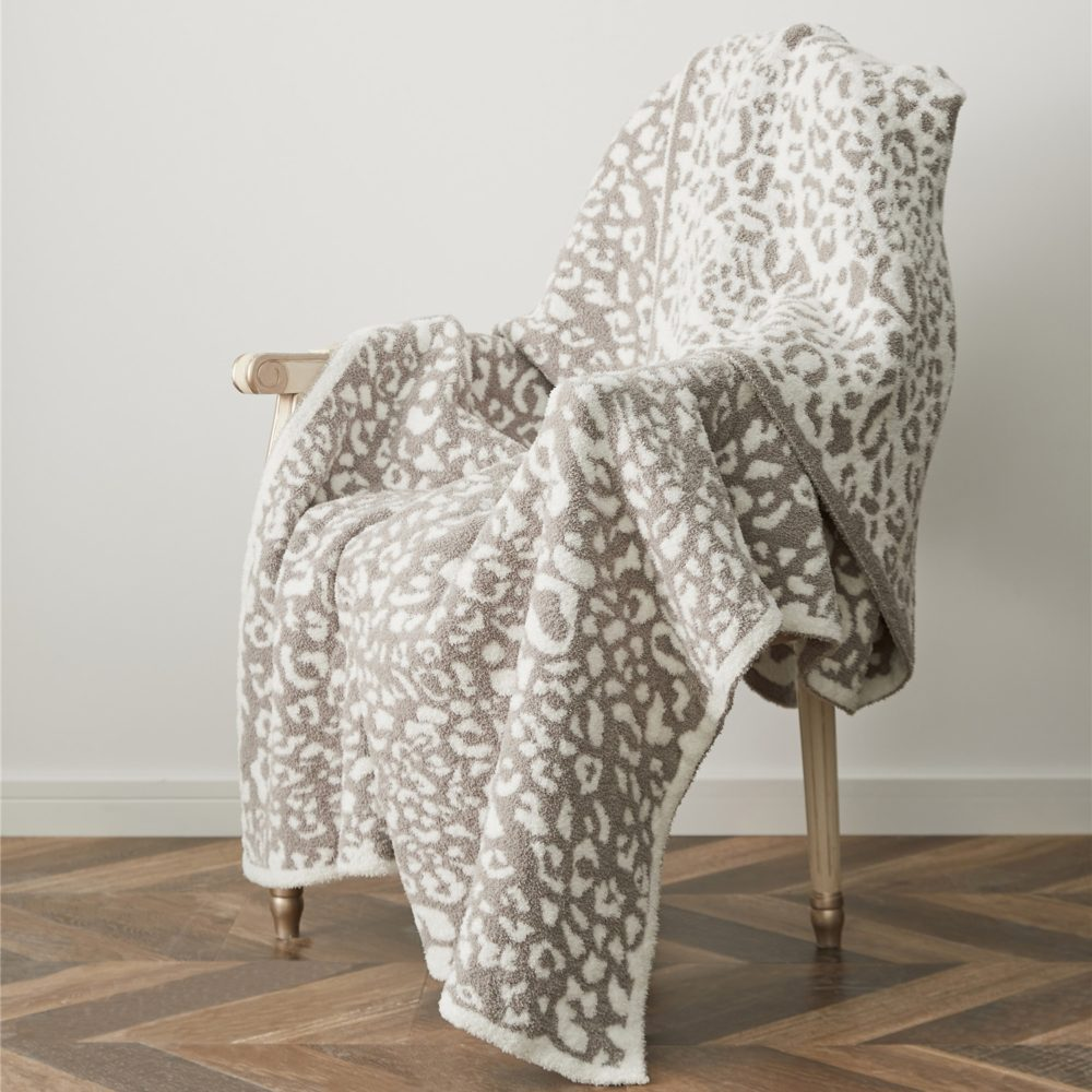 Plaid délicat style léopard beige
