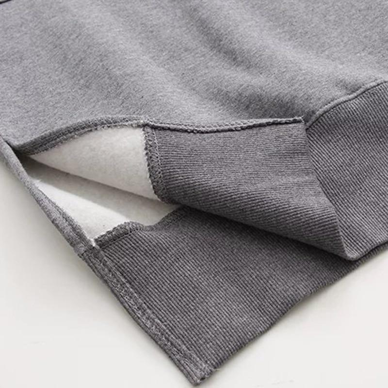 Robe pull sweat à capuche
