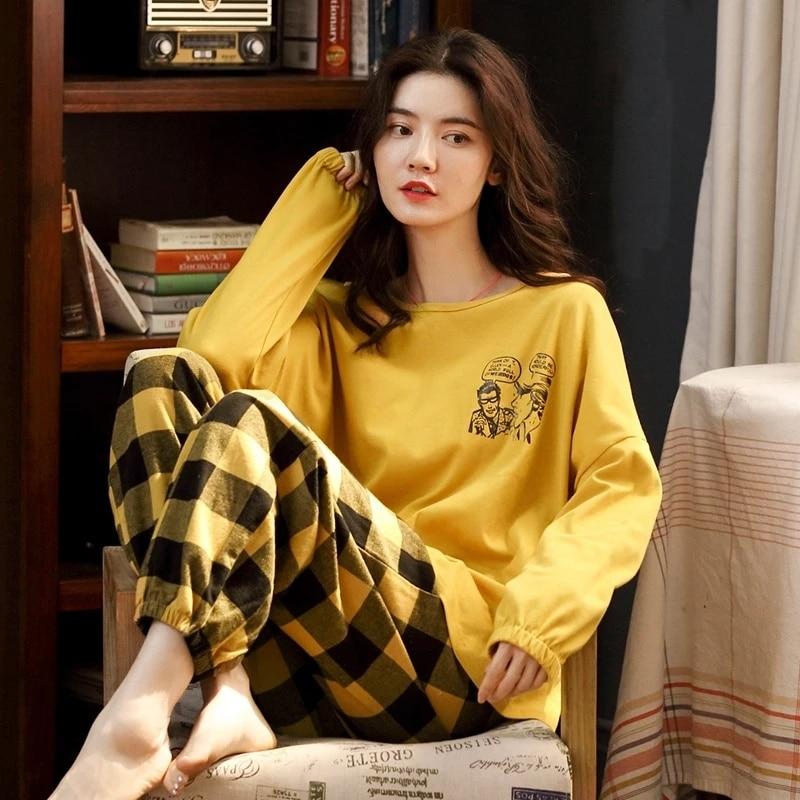 Pyjama d'intérieur cocooning amusant pour femme