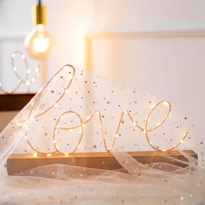 Veilleuse cosy lettres en leds décoration d'intérieure