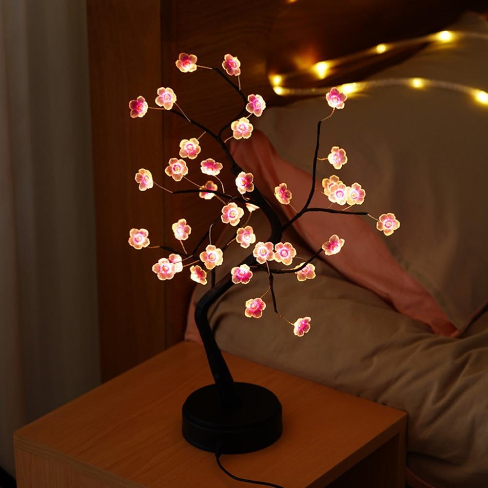 Lampe bonsaï décorative ambiance cocooning