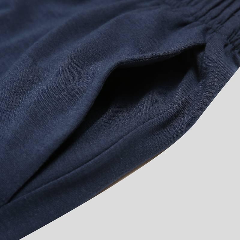 Ensemble pour homme short et t-shirt à rayures