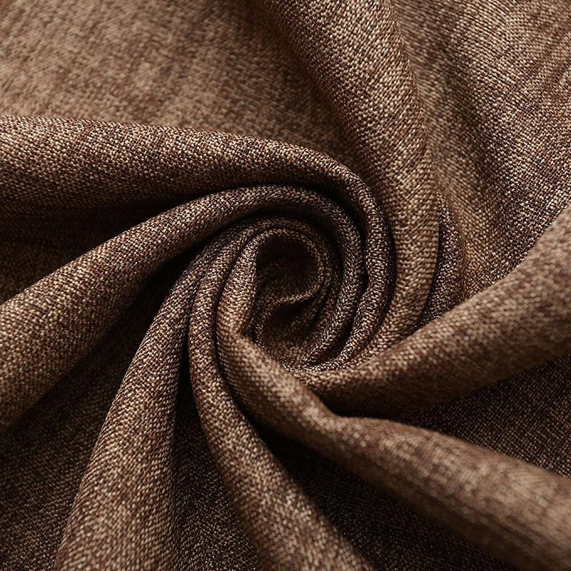 Rideau occultant en tissu épais et moderne