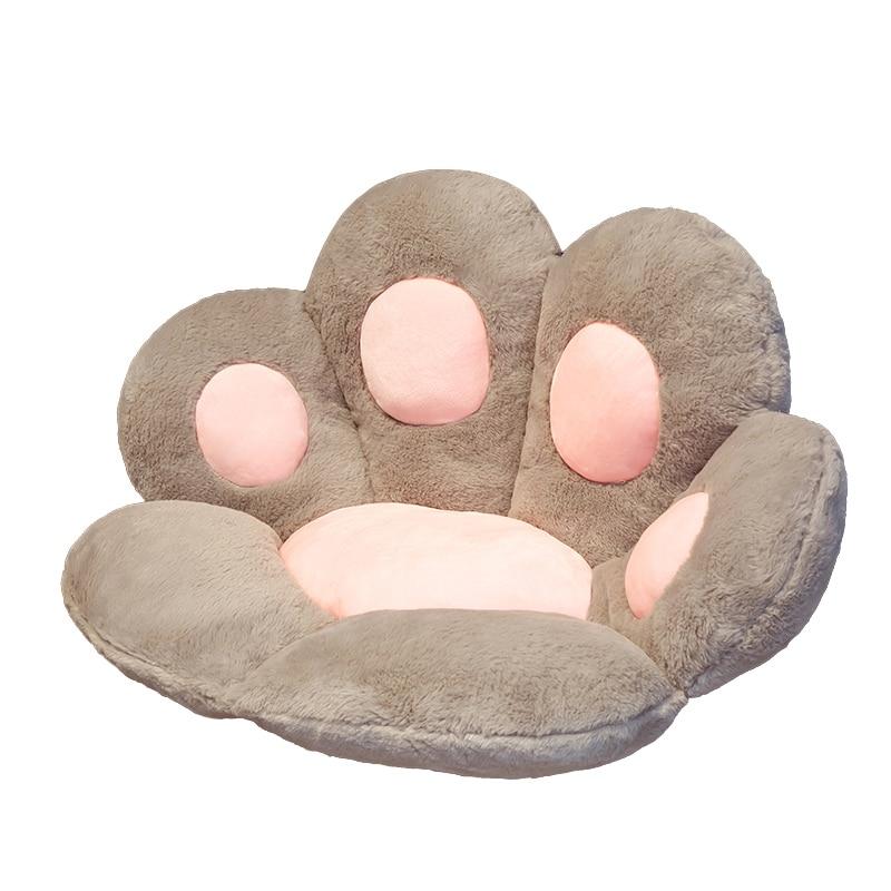 Coussin de sol en forme de patte de chat