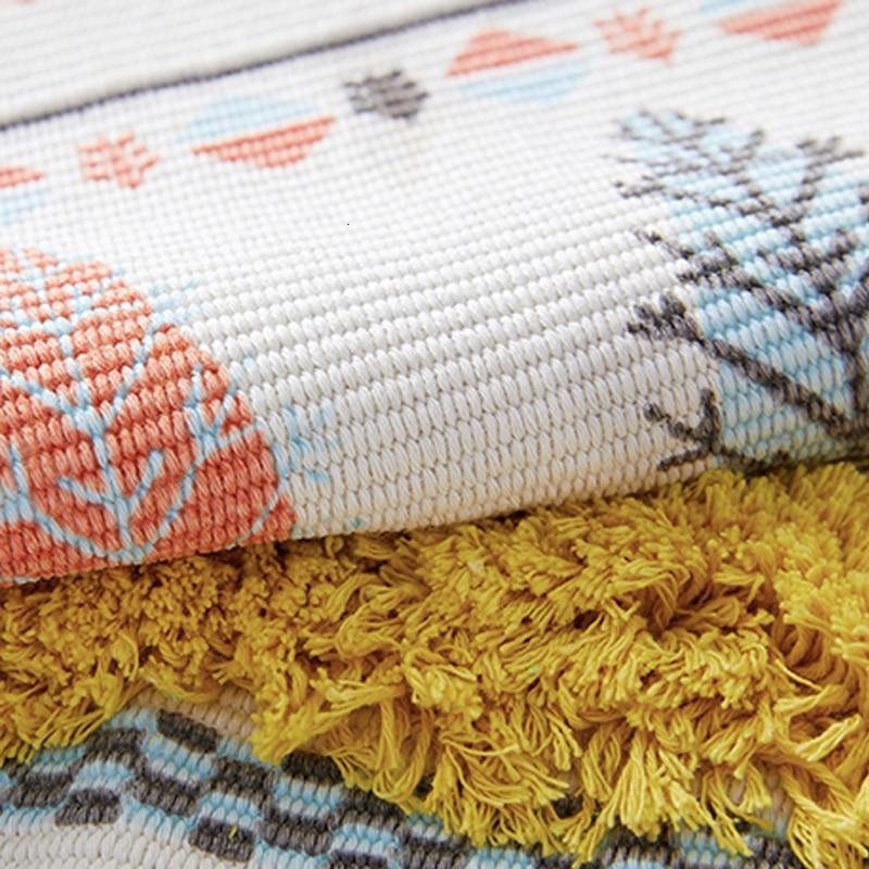 Petit tapis coloré
