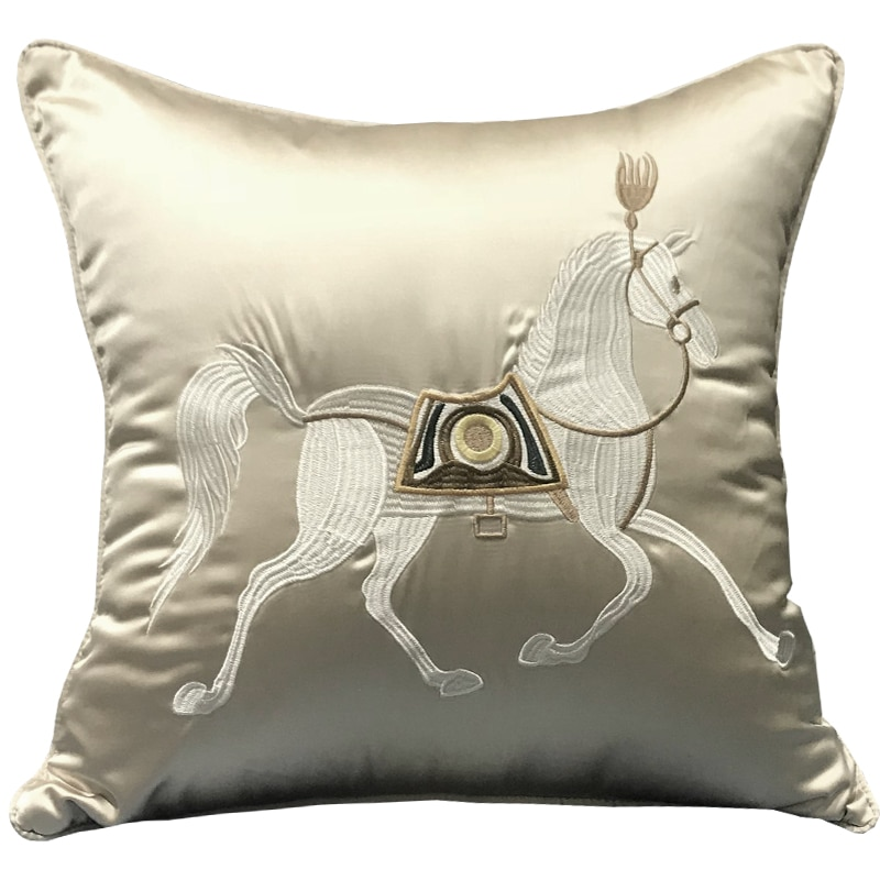Coussin cheval oriental