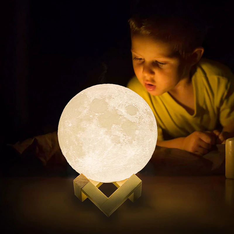 Lampe lune led rechargeable